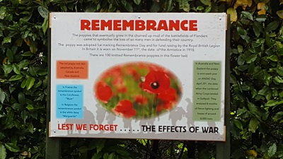 WW1 Remembrance Story Board