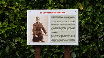 Story Board about Scottish Regiments