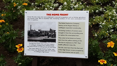 The Home Front Story Board