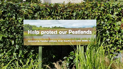 Transition Linlithgow Bed - Help Protect Our Peatlands