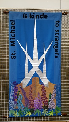 St Michael's Church Banner