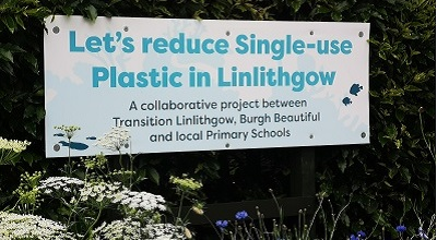 Let's reduce single-use plastic in Linlithgow