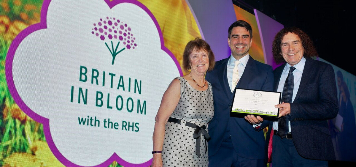 Britain in Bloom - Gold and Best Town